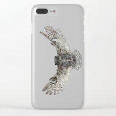 Inked flight Clear iPhone Case