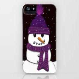 The Armless Snowman iPhone Case