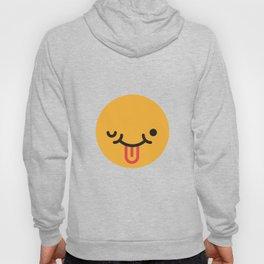 Emojis: Crazy face Hoody
