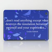 read iPad Cases featuring Read. by Audrey Erickson