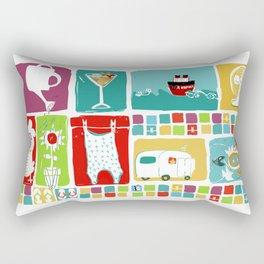 Summer & you & me... Rectangular Pillow