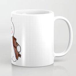 flashing snowman Flasher Present Winter Christmas Coffee Mug