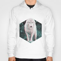 hologram Hoodies featuring hologram wolf by Avalon Corvus