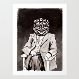 The Patriarch Art Print