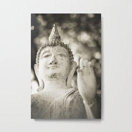 Buddha in Sukhothai Metal Print
