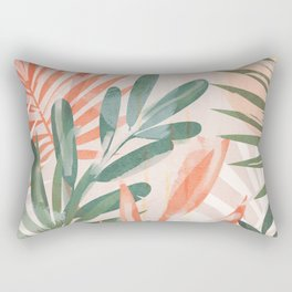 Tropical Leaves 4 Rectangular Pillow