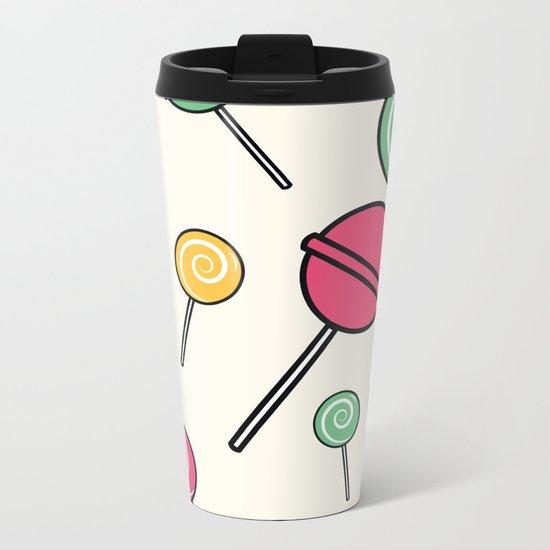 Lolli-lollipop Metal Travel Mug