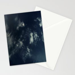 Cloud and sky 14 -cloud, sky, blue, positive,optimism Stationery Cards