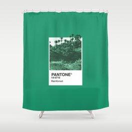 PANTONE SERIES – RAINFOREST Shower Curtain