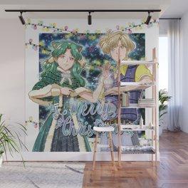 Merry Xmas Haruka & Michiru! Wall Mural
