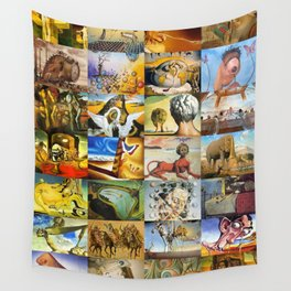 Salvador Dali Wall Tapestry