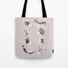 Botanica Letters | Powder Tote Bag
