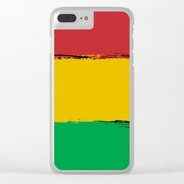 Rastafari Clear iPhone Case