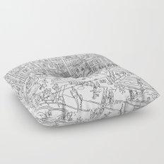 Budapest X Floor Pillow