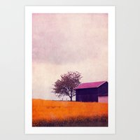 country Art Prints featuring country by Claudia Drossert