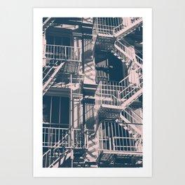 Soho Black and White Art Print