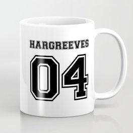 Team Umbrella Academy, number 4. (In black) Coffee Mug