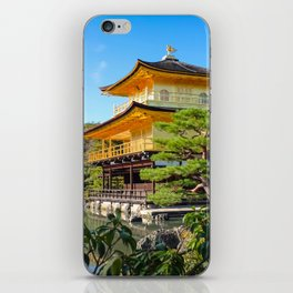 Golden Temple Kyoto, Japan iPhone Skin