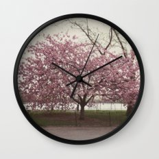 in bloom::nyc Wall Clock