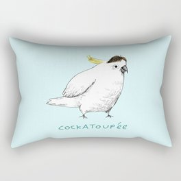 Cockatoupée Rectangular Pillow