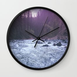 maligney water Wall Clock