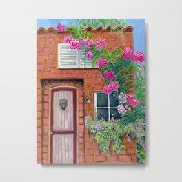The Garden House Metal Print
