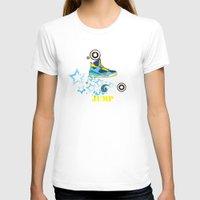 sneaker T-shirts featuring Jump, Dance, Sneaker, Hip Hop by MiartDesignCreation