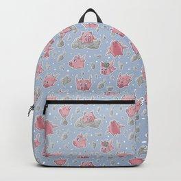 Flying Piggies Pattern Backpack