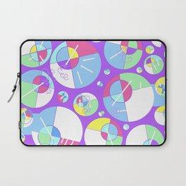 Bubble Purple Laptop Sleeve