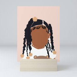 Baby Girl Mini Art Print