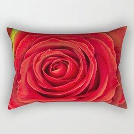 Red Rose for Love Rectangular Pillow