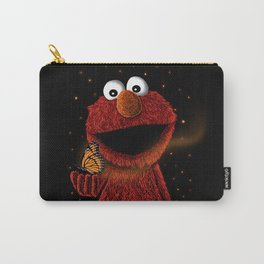 Elmo and Little Butterfly Carry-All Pouch