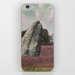 wild whale wood flower iPhone Skin