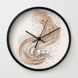 Optical Tentacles Wall Clock