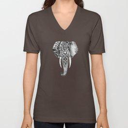 Livingstone the Steampunk Elephant Unisex V-Neck