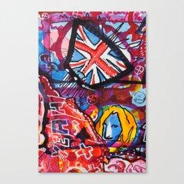 PUNK PUNK PUNK | Basquiat Picasso Kippenberger | 2013 Canvas Print