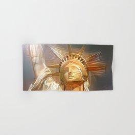 Statue de la liberté Hand & Bath Towel