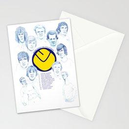 LEEDS UNITED 1972 Stationery Cards