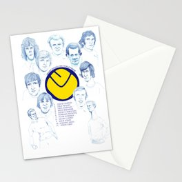 LEEDS UNITED 1972 Stationery Cards