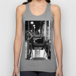 Christopher St. Station. West Village. New York, NY. 2014. Unisex Tank Top