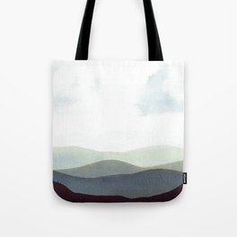 Mountains Storm Tote Bag