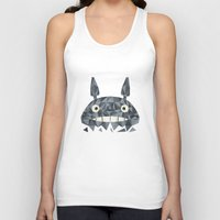 totes Tank Tops featuring Totes by D. A. M. Good Prints