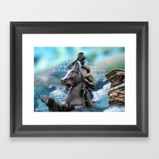 atlantis Framed Art Print