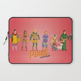 Dungeons and Dragons - Pixel Nostalgia Laptop Sleeve
