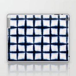 Shibori Squares Laptop & iPad Skin