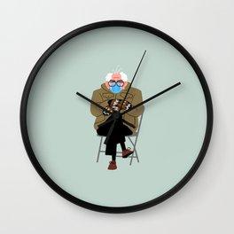 Bernie's Mittens Wall Clock