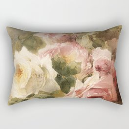 La Vie en Rose Rectangular Pillow