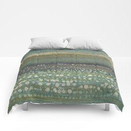 Landscape Dots- Blue Comforters