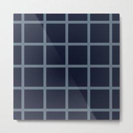 Iida Pattern Metal Print