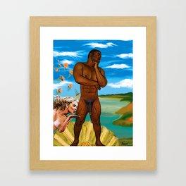 The Birth of Jab Framed Art Print